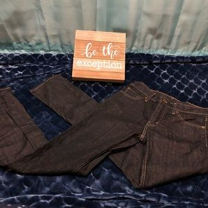 Levi's 511 Black Jeans Straight Leg Size 30